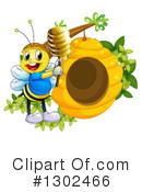 Bee Clipart #1302466 by Graphics RF