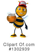 Bee Clipart #1302939 by Julos