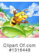 Bee Clipart #1316448 by AtStockIllustration