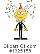Bee Clipart #1325158 by Cory Thoman