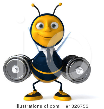 Business Bee Clipart #1326753 by Julos