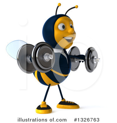 Business Bee Clipart #1326763 by Julos