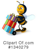 Bee Clipart #1340279 by Julos