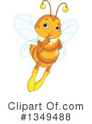 Bee Clipart #1349488 by Pushkin