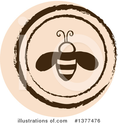 Bee Clipart #1377476 by Cherie Reve