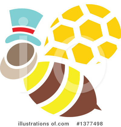 Bee Clipart #1377498 by Cherie Reve