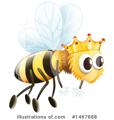 Bee Clipart #1467688 by Graphics RF