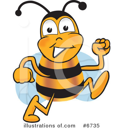 Bee Clipart #6735 by Toons4Biz