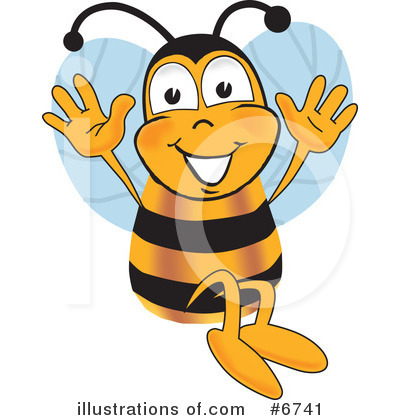 Bee Clipart #6741 by Toons4Biz