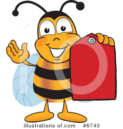 Bee Clipart #6743 by Toons4Biz