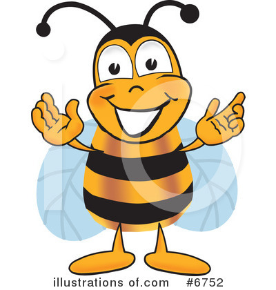 Bee Clipart #6752 by Toons4Biz