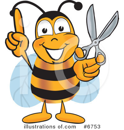 Bee Clipart #6753 by Toons4Biz