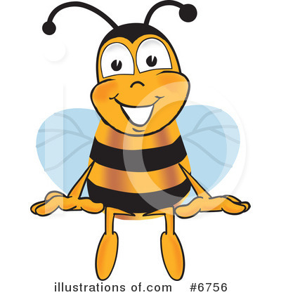 Bee Clipart #6756 by Toons4Biz