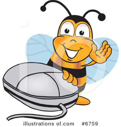 Bee Clipart #6759 by Toons4Biz