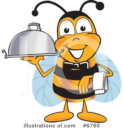 Bee Clipart #6760 by Toons4Biz