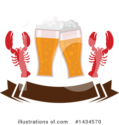Lobster Clipart #1434570 by Vector Tradition SM