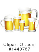 Beer Clipart #1440767 by Graphics RF