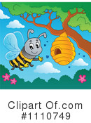 Bees Clipart #1110749 by visekart
