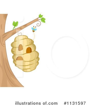 Bees Clipart 1131597 Illustration By Bnp Design Studio
