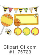 Bees Clipart #1176723 by BNP Design Studio