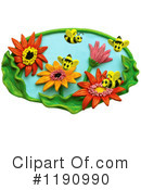 Bees Clipart #1190990 by Amy Vangsgard