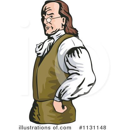 Benjamin Franklin Clipart #1131148 - Illustration by patrimonio