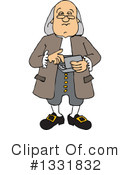 Benjamin Franklin Clipart #1331832 by djart