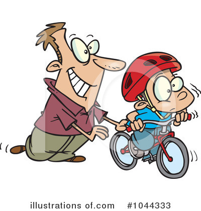 Bicycle Clipart #1044333 by toonaday