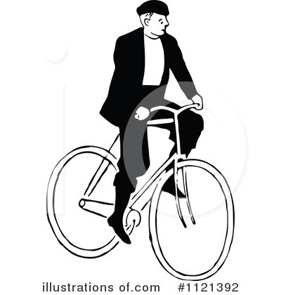 Bicycle Clipart #1121392 by Prawny Vintage