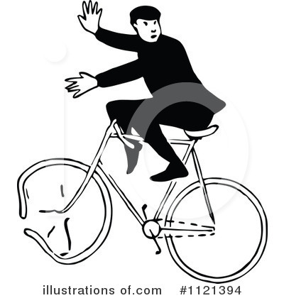 Bicycle Clipart #1121394 by Prawny Vintage