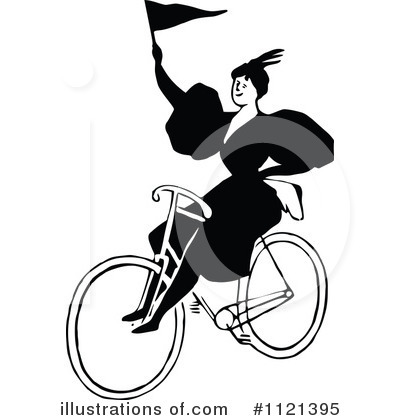 Bicycle Clipart #1121395 by Prawny Vintage