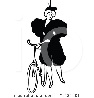 Bicycle Clipart #1121401 by Prawny Vintage