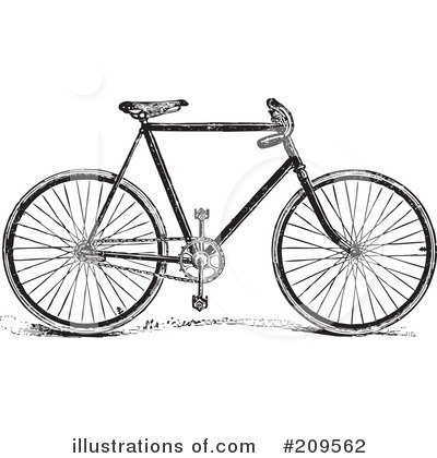 Bicycle Clipart #209562 by BestVector