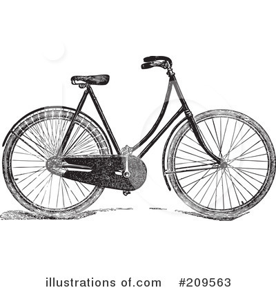 Bicycle Clipart #209563 by BestVector