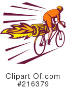 Bicycle Clipart #216379 by patrimonio