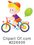 Bicycle Clipart #226936 by Alex Bannykh