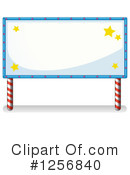 Billboard Clipart #1256840 by Graphics RF