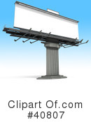 Billboard Clipart #40807 by Frank Boston