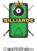 Billiards Clipart #1722748 by Vector Tradition SM