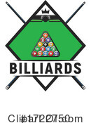 Billiards Clipart #1722750 by Vector Tradition SM