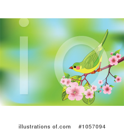 Cherry Blossoms Clipart #1057094 by Pushkin