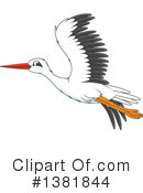 Bird Clipart #1381844 by Alex Bannykh