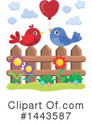 Bird Clipart #1443587 by visekart