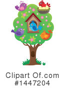 Bird Clipart #1447204 by visekart