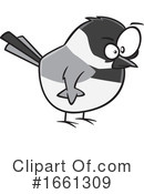 Bird Clipart #1661309 by toonaday
