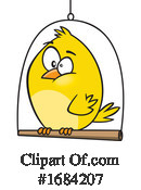 Bird Clipart #1684207 by toonaday