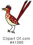 Roadrunner Clipart #1409874 - Illustration by toonaday