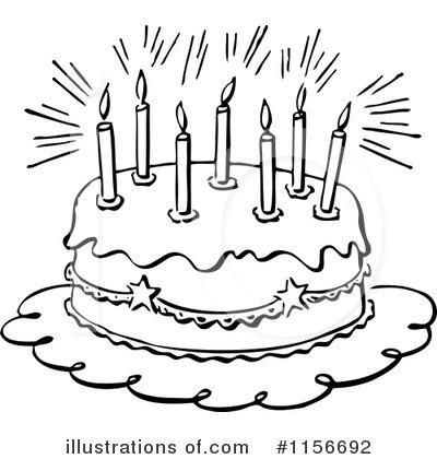Birthday Cake Clipart 1156692 Illustration by BestVector