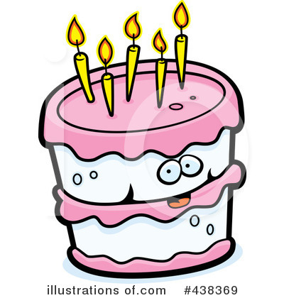 Birthday Cake Clipart 438369 Illustration by Cory Thoman