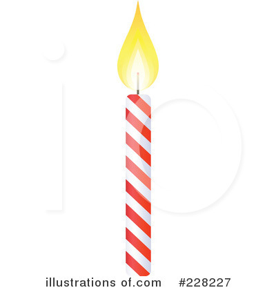 Birthday Candle Clipart 228227 Illustration By Tonis Pan